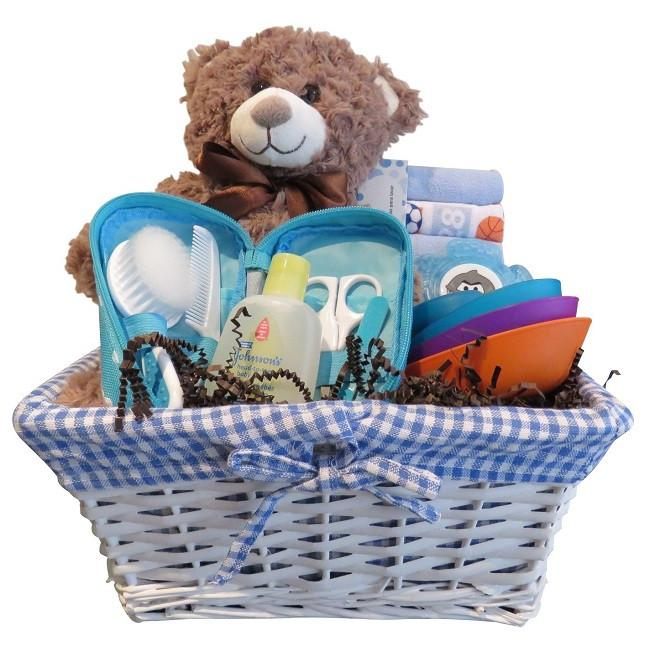 panier cadeau bebe Montpetit Creations | baby gift basket montreal